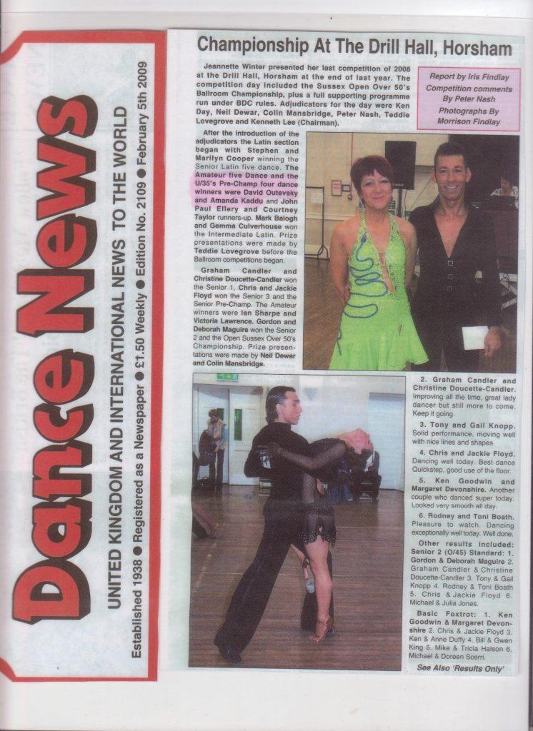 Dance News Article