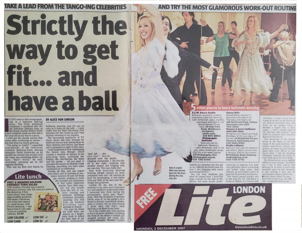 London Lite Article