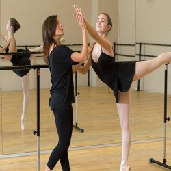 registration touch in dance education